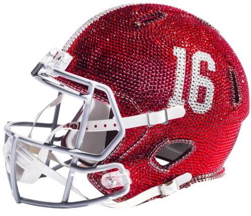 Alabama Crimson Tide Full Size Swarovski Crystal Football Helmet