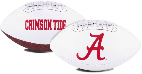 Alabama Crimson Tide Full Size Embroidered Signature Series Football