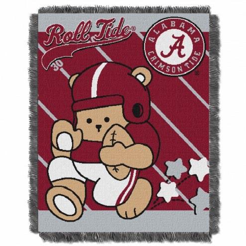 Alabama Crimson Tide Fullback Baby Blanket
