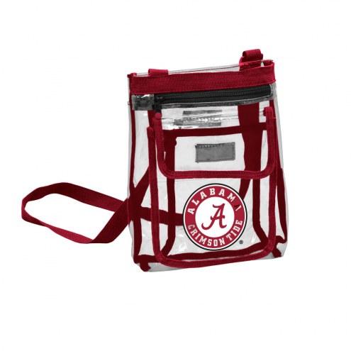 Alabama Crimson Tide Gameday Clear Crossbody Tote