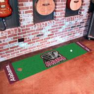 Alabama Crimson Tide Golf Putting Green Mat