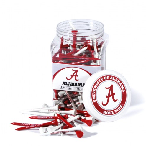 Alabama Crimson Tide 175 Golf Tee Jar