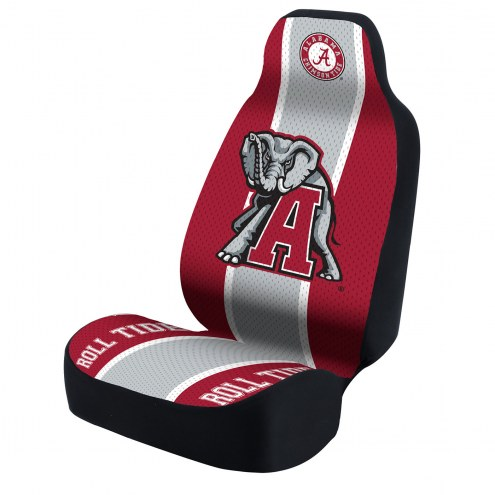 Alabama Crimson Tide Grey/Red Universal Bucket Car Seat Cover