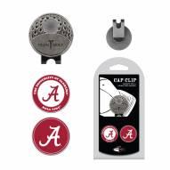 Alabama Crimson Tide Hat Clip & Marker Set