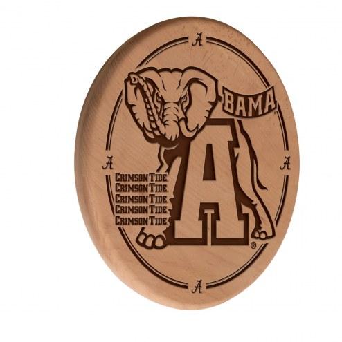 Alabama Crimson Tide Laser Engraved Wood Sign