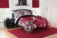 Alabama Crimson Tide Hexagon Full/Queen Comforter & Shams Set