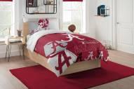 Alabama Crimson Tide Hexagon Twin Comforter & Sham Set