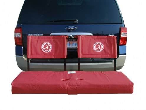 Alabama Crimson Tide Tailgate Hitch Seat/Cargo Carrier