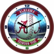 Alabama Crimson Tide Home Run Wall Clock