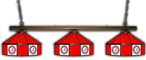 Alabama Crimson Tide 3 Shade Pool Table Light
