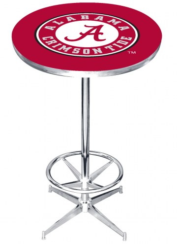 Alabama Crimson Tide College Team Pub Table