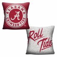 Alabama Crimson Tide Invert Woven Pillow