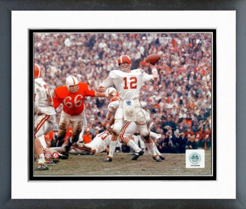Alabama Crimson Tide Ken Stabler 1965 Action Framed Photo