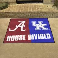 Alabama Crimson Tide House Divided Mat
