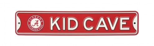 Alabama Crimson Tide Kid Cave Street Sign
