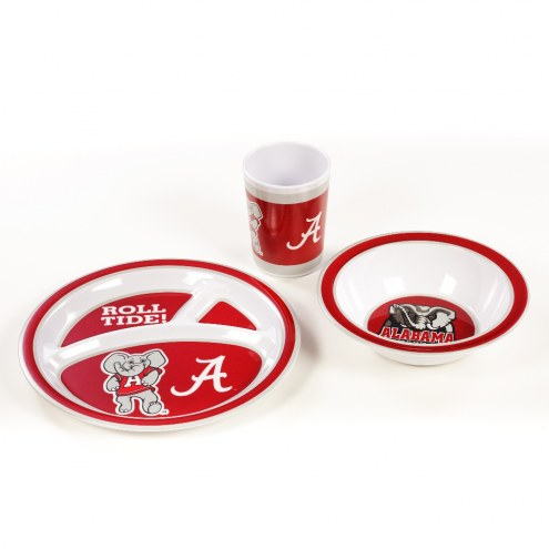 Alabama Crimson Tide Kid's Dish Set