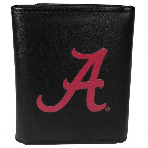 Alabama Crimson Tide Large Logo Leather Tri-fold Wallet