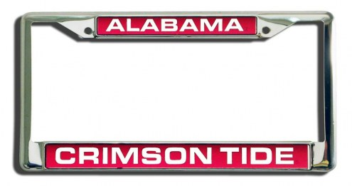 Alabama Crimson Tide Laser Cut License Plate Frame
