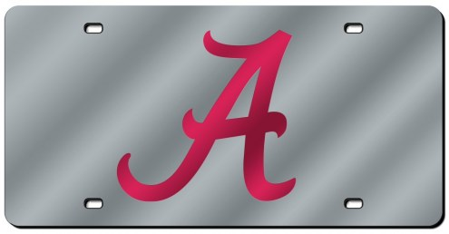 Alabama Crimson Tide Laser Cut License Plate