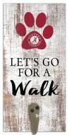 Alabama Crimson Tide Leash Holder Sign