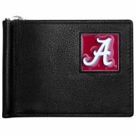 Alabama Crimson Tide Leather Bill Clip Wallet