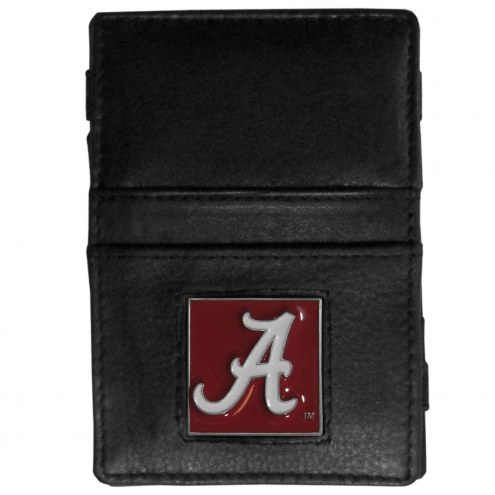 Alabama Crimson Tide Leather Jacob's Ladder Wallet
