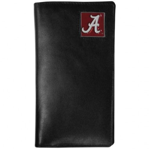 Alabama Crimson Tide Leather Tall Wallet