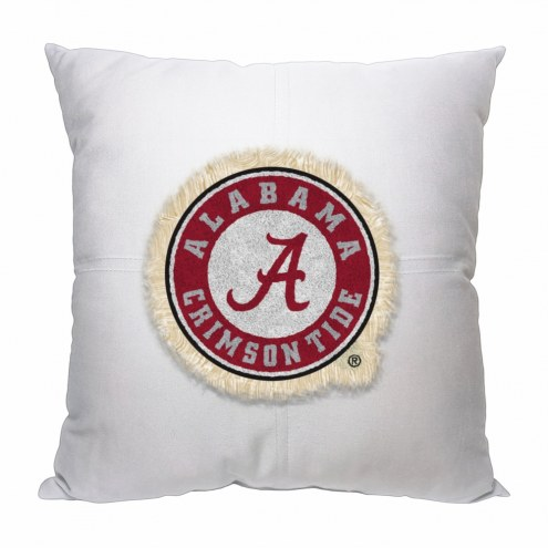 Alabama Crimson Tide Letterman Pillow