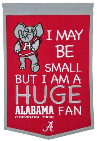 Alabama Crimson Tide Lil Fan Traditions Banner
