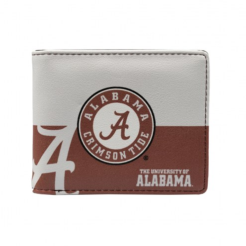 Alabama Crimson Tide Bi-Fold Wallet