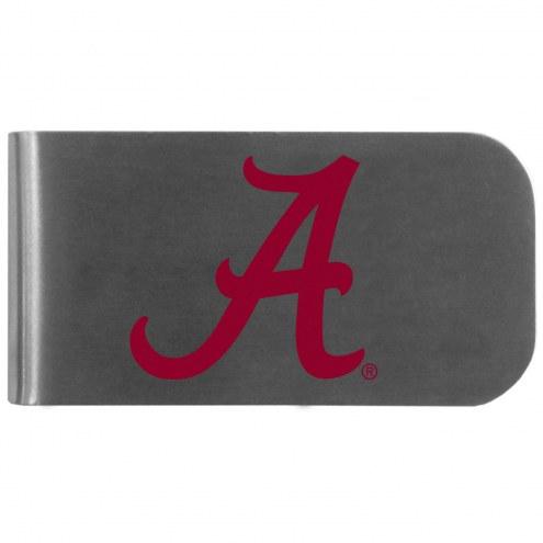 Alabama Crimson Tide Logo Bottle Opener Money Clip