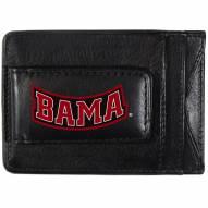 Alabama Crimson Tide Logo Leather Cash and Cardholder