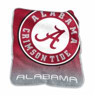 Alabama Crimson Tide Raschel Throw Blanket