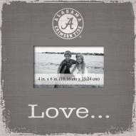 Alabama Crimson Tide Love Picture Frame