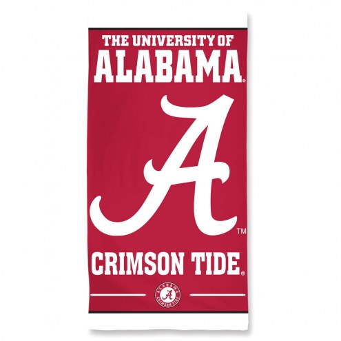 Alabama Crimson Tide McArthur Beach Towel
