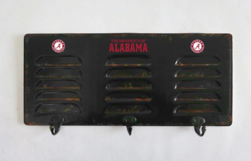 Alabama Crimson Tide Metal Coat Rack