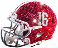 Alabama Crimson Tide Mini Swarovski Crystal Football Helmet