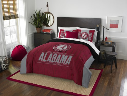 Alabama Crimson Tide Modern Take Full/Queen Comforter Set
