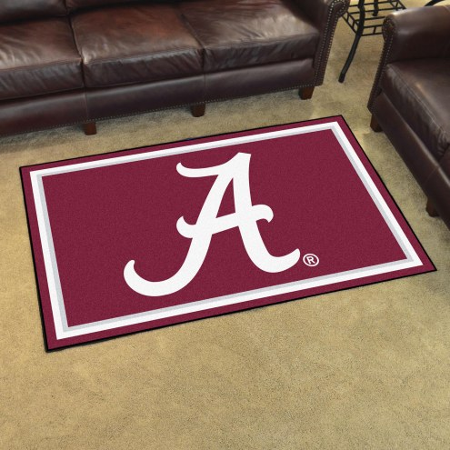 Alabama Crimson Tide NCAA 4' x 6' Area Rug