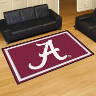 Alabama Crimson Tide NCAA 5' x 8' Area Rug