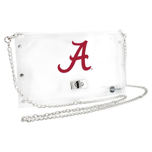 Alabama Crimson Tide NCAA Clear Envelope Purse