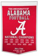 Winning Streak Alabama Crimson Tide NCAA Football Dynasty Banner