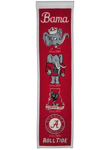 Alabama Crimson Tide NCAA Heritage Banner