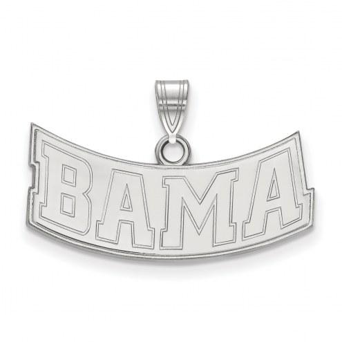 Alabama Crimson Tide Sterling Silver Medium Pendant