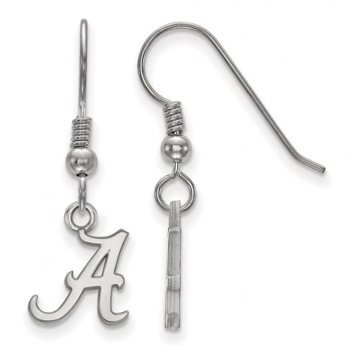 Alabama Crimson Tide NCAA Sterling Silver Extra Small Dangle Earrings