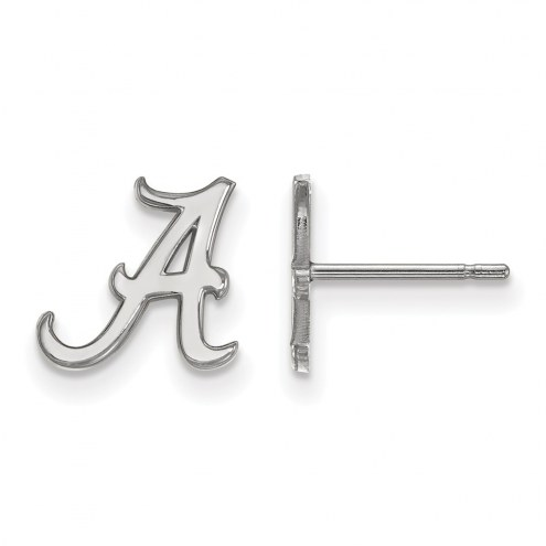 Alabama Crimson Tide NCAA Sterling Silver Extra Small Post Earrings