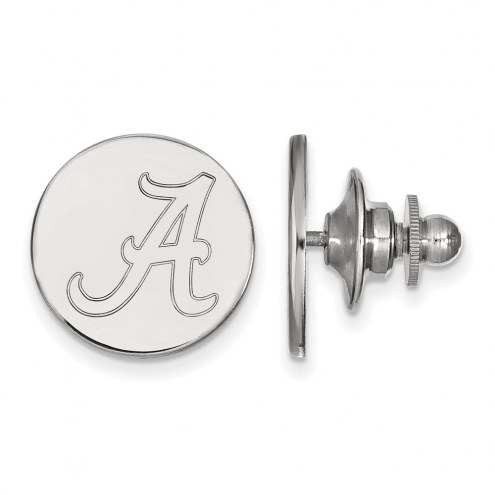 Alabama Crimson Tide NCAA Sterling Silver Lapel Pin