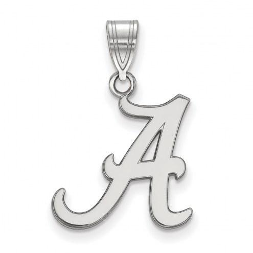 Alabama Crimson Tide NCAA Sterling Silver Medium Pendant