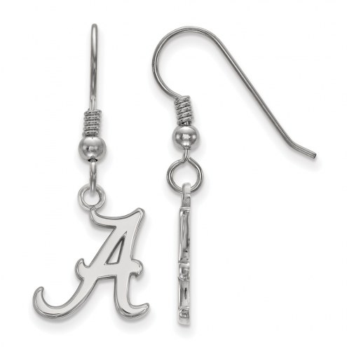 Alabama Crimson Tide NCAA Sterling Silver Small Dangle Earrings