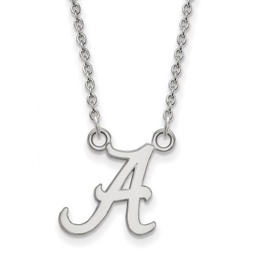 Alabama Crimson Tide NCAA Sterling Silver Small Pendant Necklace